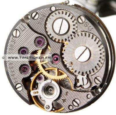 Boutons de Manchette en Mécanisme de Montre Volga 1956 (Rond) 2