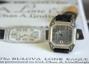 Bulova 1927 Corner-Cut Lone Eagle
